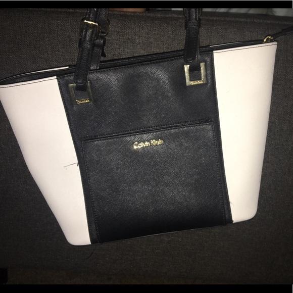 63bcb2f7a Calvin Klein Bags   Black White Handbag   Poshmark calvin klein handbags  black and white